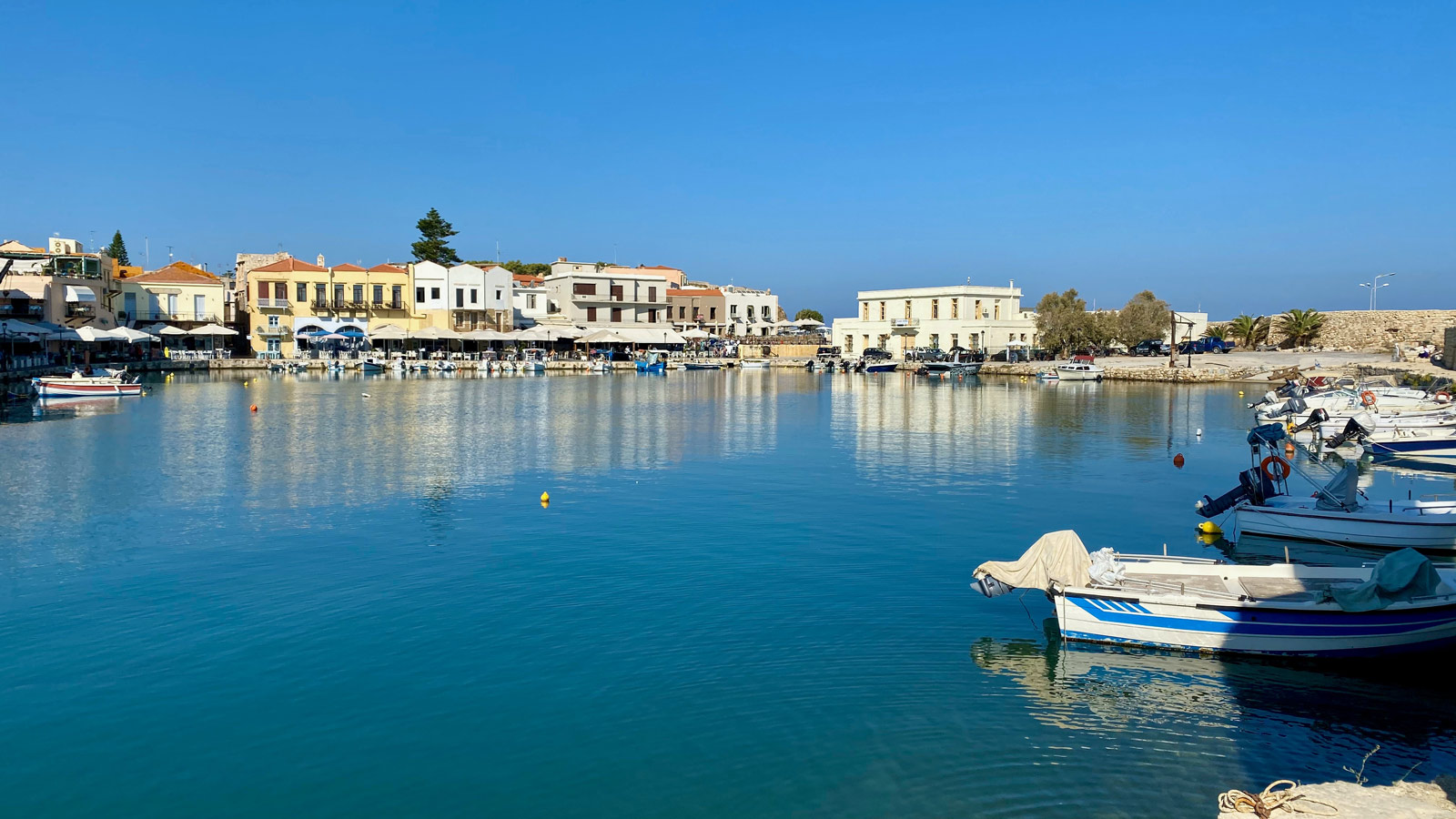 Rethymno town old harbour